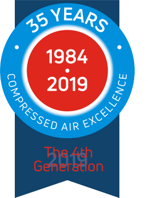35 years of comporessed air excellence